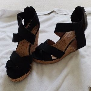 New York & Company Shoes - NY & Co Cork Wedges